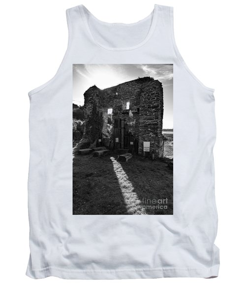 Tank Top featuring the photograph Photographs Of Cornwall Carnon Mine by Brian Roscorla