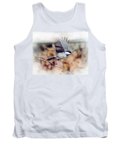 Carolina Chickadee - Come Fly With Me  Tank Top
