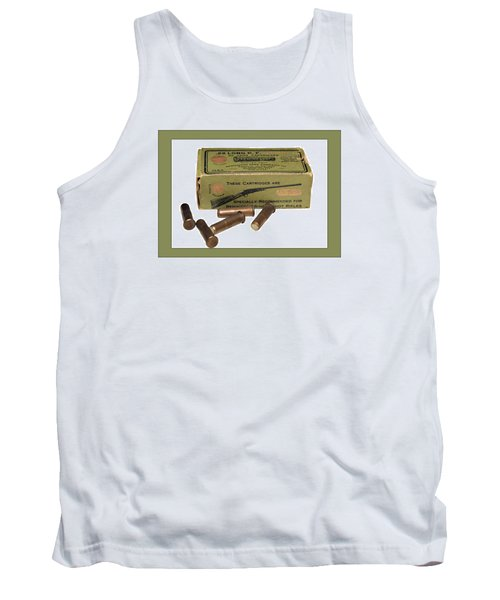 Cartridges For Rifle Tank Top