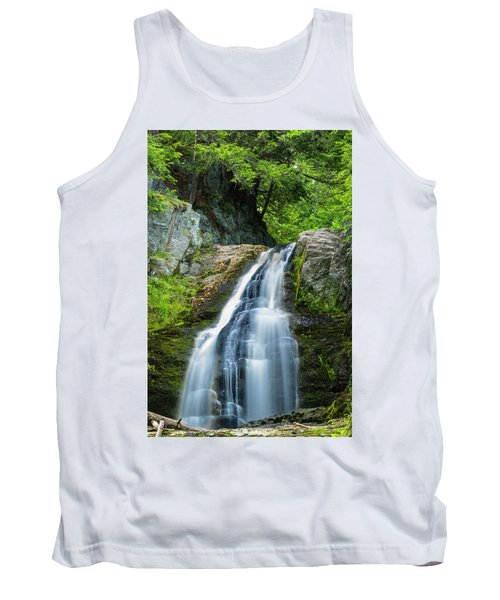 Tank Top featuring the photograph Cascade Falls In South Portland In Maine by Ranjay Mitra