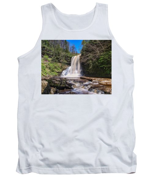 Cascade Falls In Spring Tank Top