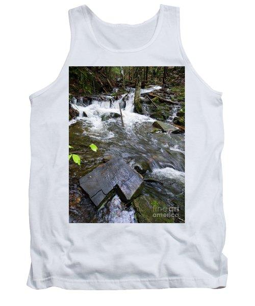 Cascade Falls Stream, Farmington, Maine  -30329 Tank Top