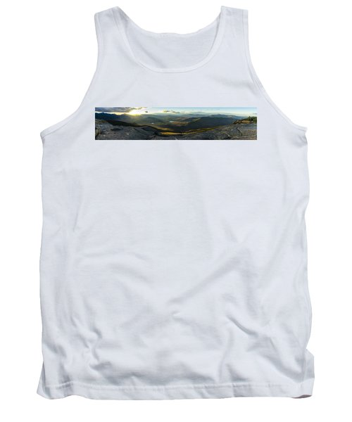 Cascade Mountain Sunset Tank Top