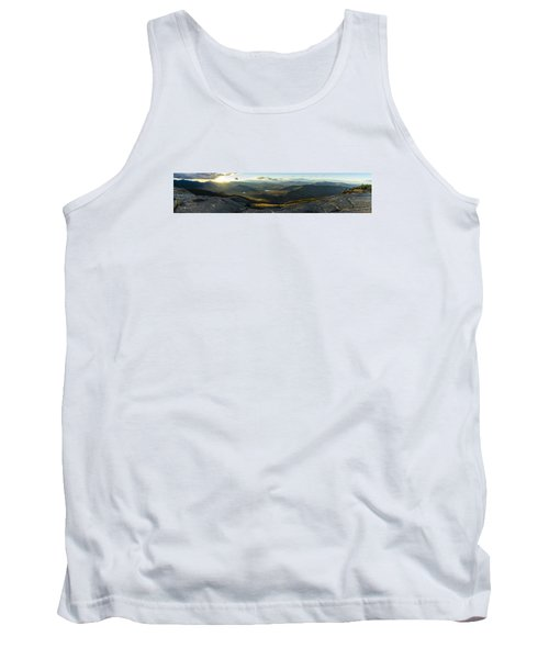 Cascade Mountain Sunset Tank Top