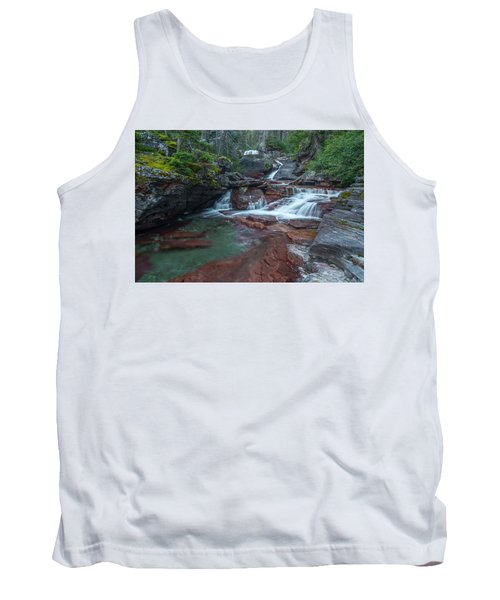 Tank Top featuring the photograph Cascades by Gary Lengyel