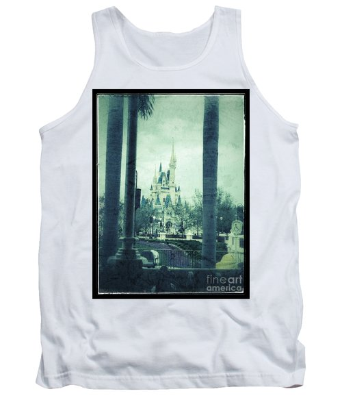 Castle Between The Palms Tank Top by Jason Nicholas