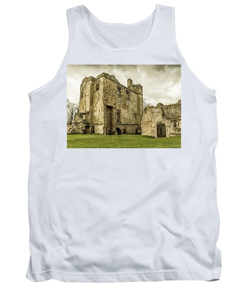 Tank Top featuring the photograph Castle Of Ashby by Nick Bywater