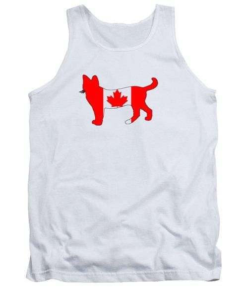 Cat Canada Tank Top by Mordax Furittus