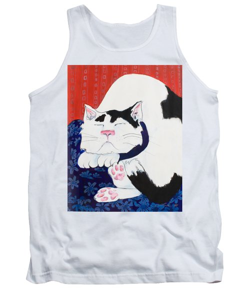 Cat I - Asleep Tank Top