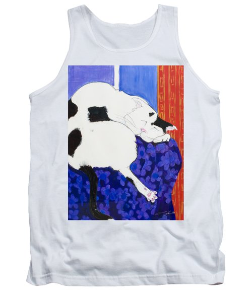 Cat IIi Peaceful   Tank Top