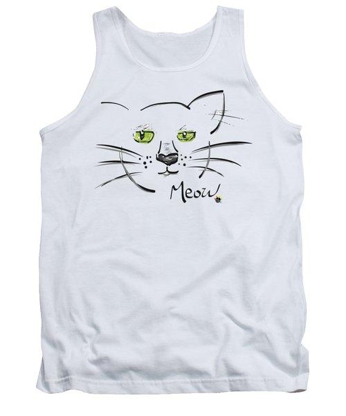 Cat Meow Tank Top