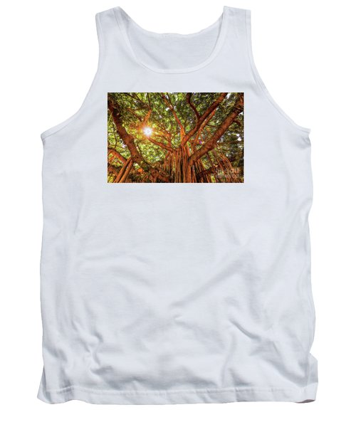 Catch A Sunbeam Under The Banyan Tree Tank Top