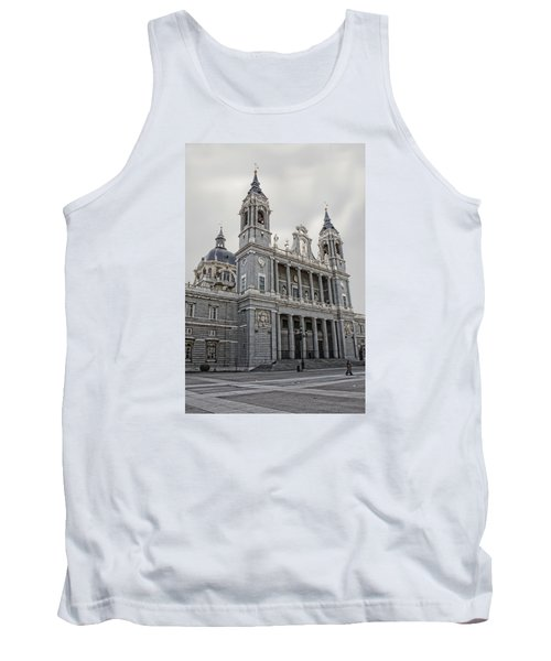 Catedral De La Almudena Tank Top by Angel Jesus De la Fuente