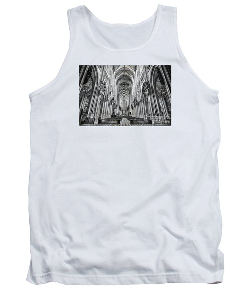 Cathedral At Orleans France Tank Top by Jack Torcello