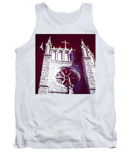 Cathedral In Archangel Glow Tank Top