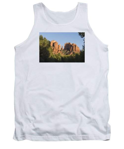 Cathedral In The Trees Tank Top by Laura Pratt