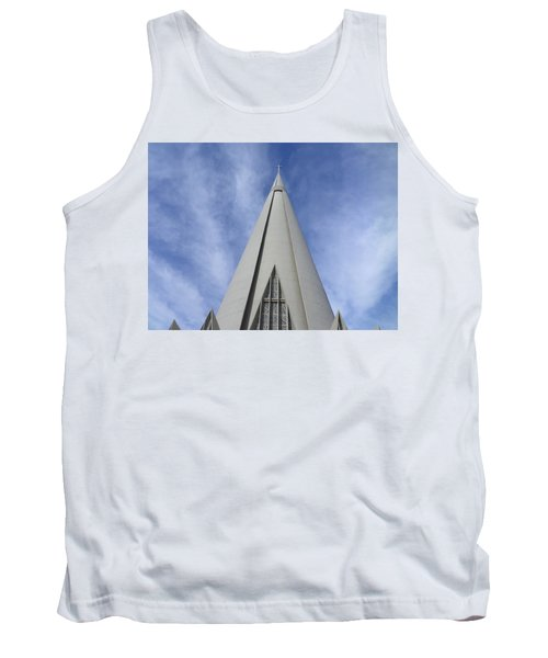Cathedral Minor Basilica Our Lady Of Glory Tank Top by Bruna Lima
