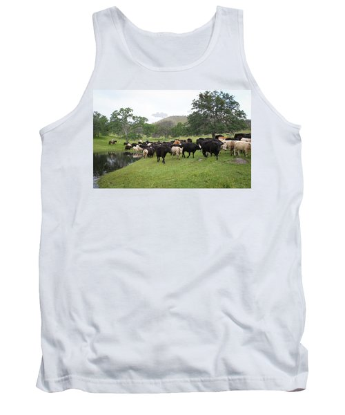 Cattle Tank Top by Diane Bohna