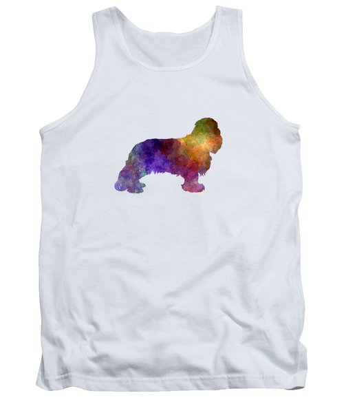 Cavalier King Charles Spaniel In Watercolor Tank Top