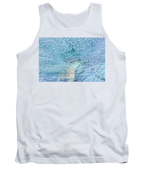Tank Top featuring the photograph Cave Colors by Wanda Krack