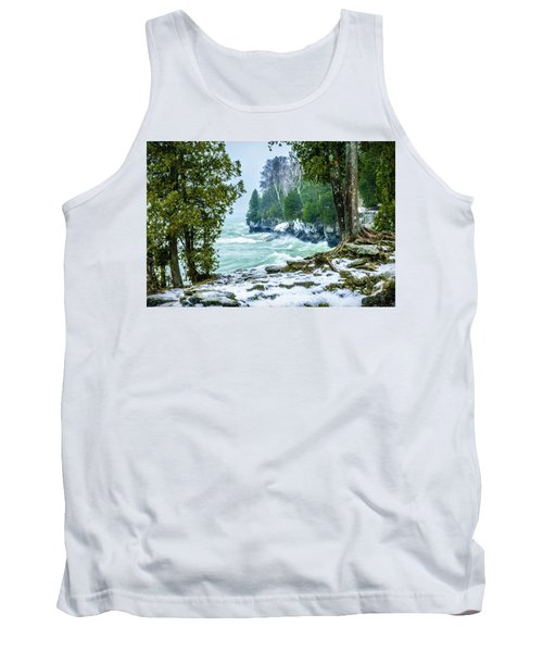 Cave Point #5 Tank Top