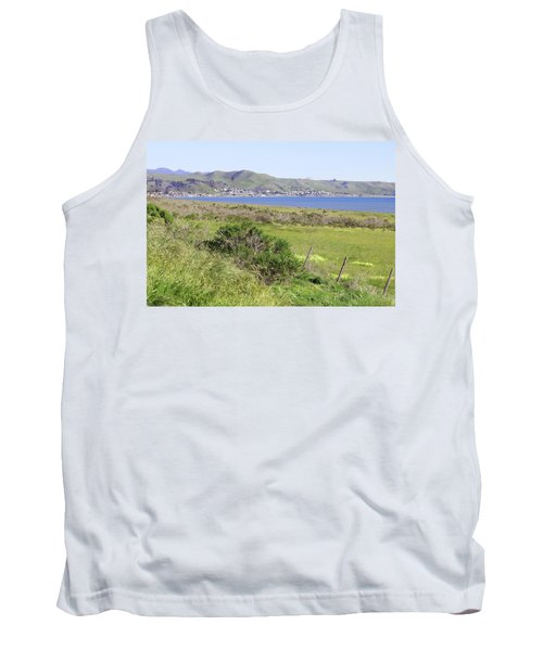 Tank Top featuring the photograph Cayucos Coastline - California by Art Block Collections