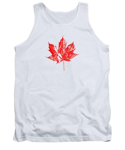Celebrate Canada 150 Maple Leaf Tank Top