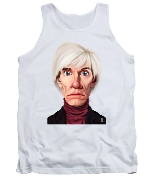 Celebrity Sunday - Andy Warhol Tank Top