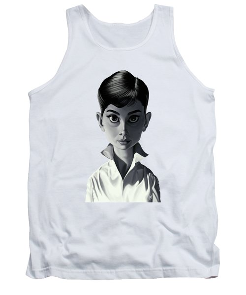 Celebrity Sunday - Audrey Hepburn Tank Top by Rob Snow