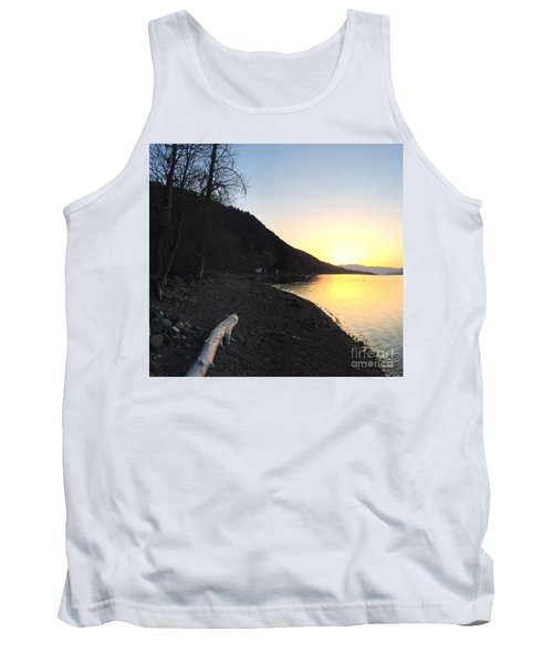 Tank Top featuring the photograph Celista Sunrise 1 by Victor K