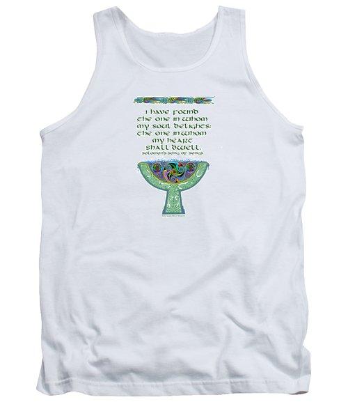 Celtic Wedding Goblet Tank Top