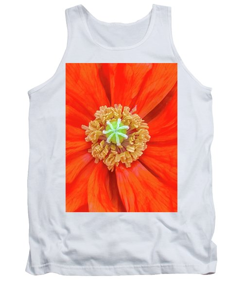 Center Of The Universe Tank Top by Bruce Carpenter
