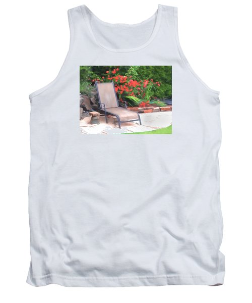 Chair Waiting Tank Top