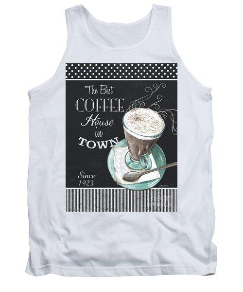 Chalkboard Retro Coffee Shop 2 Tank Top