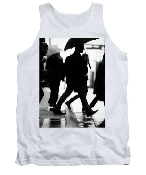 Tank Top featuring the photograph Challenge Of Peace  by Empty Wall