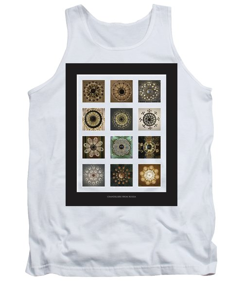Collection Poster Chandeliers From Russia Tank Top