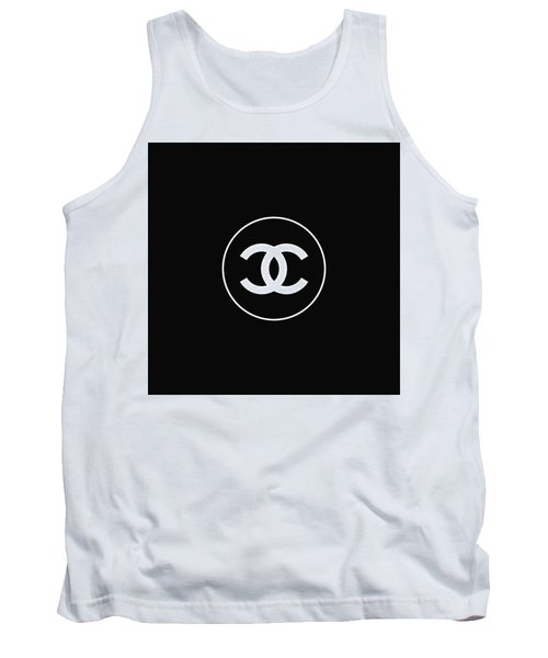 Chanel - Black And White 02 - Lifestyle And Fashion Tank Top