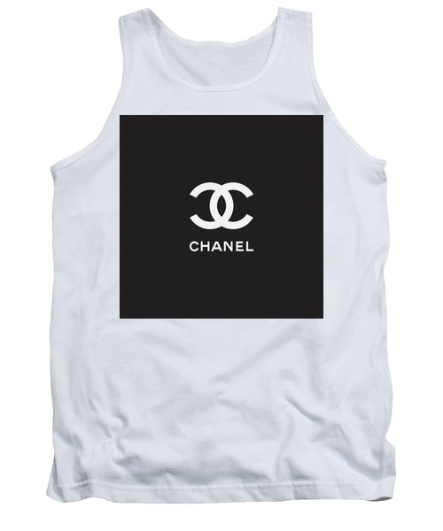 Chanel - Black And White 03 - Lifestyle And Fashion Tank Top