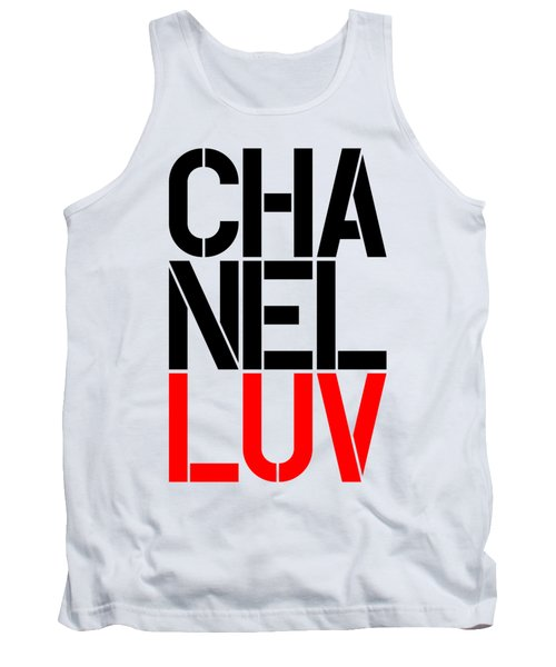 Chanel Luv-5 Tank Top