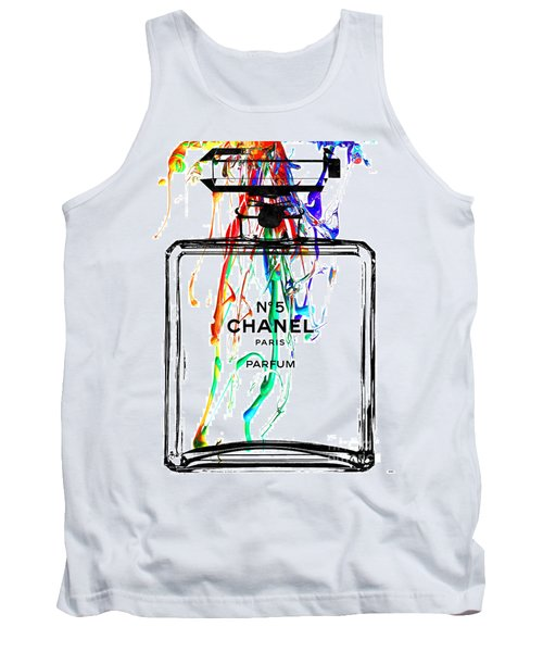 Chanel No. 5 Watercolor Tank Top
