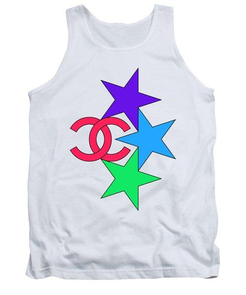 Chanel Stars-4 Tank Top