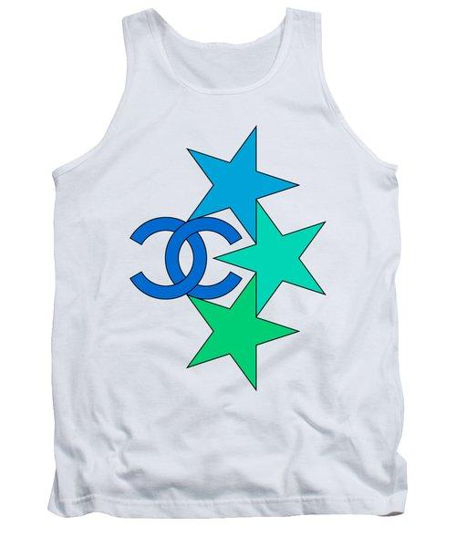Chanel Stars-8 Tank Top
