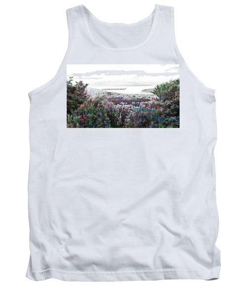 Tank Top featuring the mixed media Change Of Seasons by Mike Breau