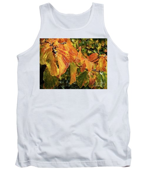 Tank Top featuring the photograph Changes by Peggy Hughes