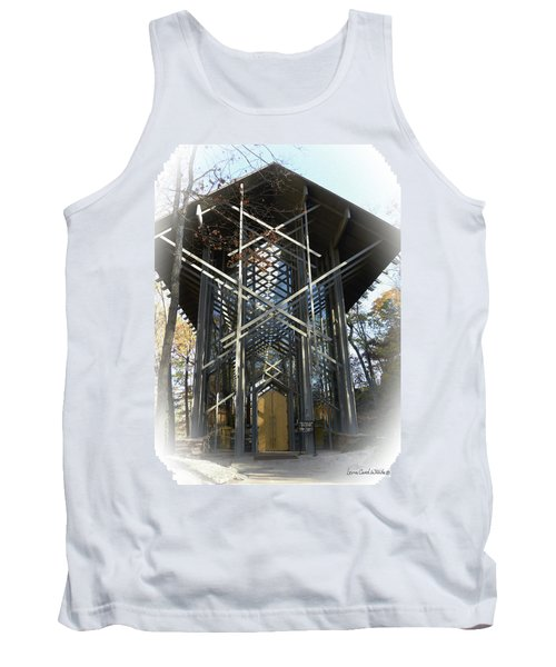 Chapel In The Woods Tank Top by Lena Wilhite