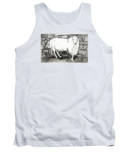 Charcoal Sheep Tank Top