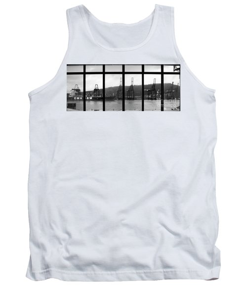 Charging Dock Of Barcelona Tank Top