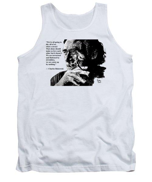 Charles Bukowski Tank Top