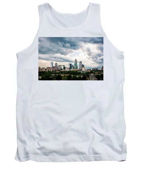 Charlotte In The Clouds Tank Top by Phyllis Peterson