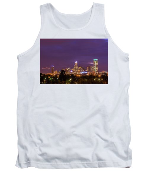 Charlotte, North Carolina Sunrise Tank Top